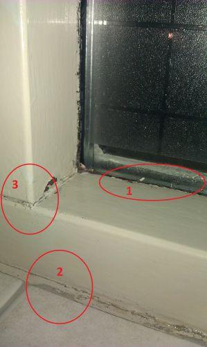 Geliefde Kozijnen bij raam repareren of kitten ZS04