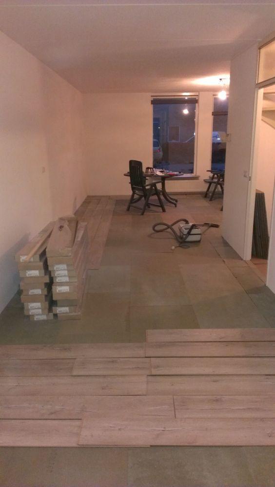Beroemd Nieuwe laminaat vloer in de breedte of lengte leggen? PC51