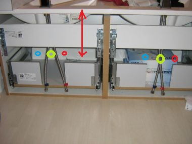 Wastafel Sifon Monteren : Sifon aansluiten wastafel awesome jual air pop up sifon pembuangan