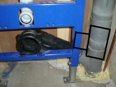 Wc afvoerleiding van 75 mm aansluiten op 110 mm