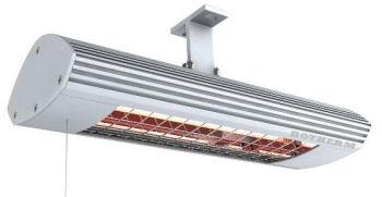 Infrarood verwarmings paneel in badkamer