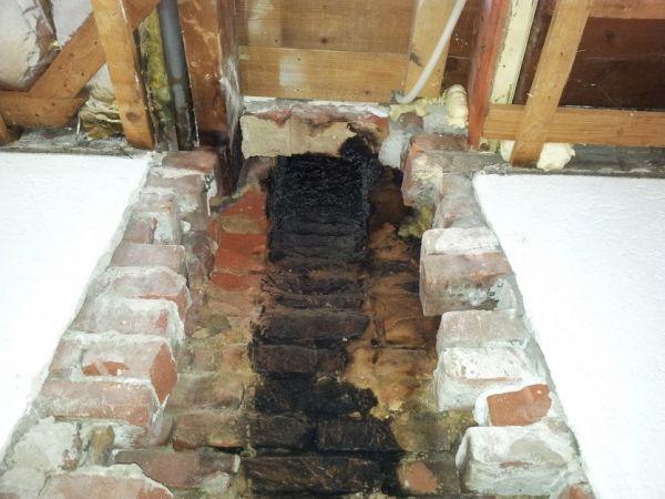 Renovatie schoorsteenkanaal