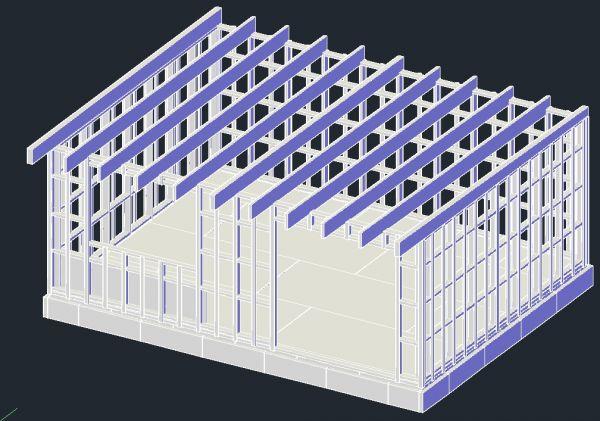 Tuinschuur bouwen 6x4.5m