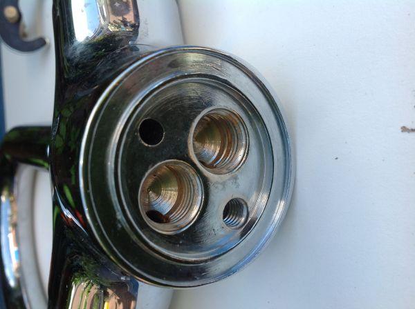 Voorkeur Aansluiten (speciale) thermostaat wastafelkraan? CX07