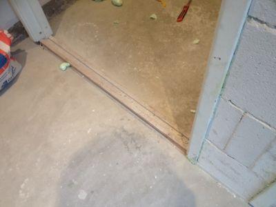 Houten Vloer Tegels : Overgang van tegels naar houten vloer