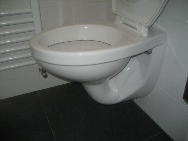 Water Trekt Weg Uit Wc.Nieuw Inbouw Toilet Spoelt Niet Door
