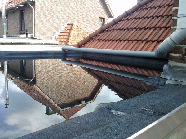 Probleem isoleren plat dak