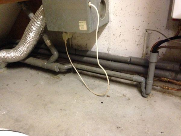 Afvoer Condens Badkamer : Afvoer wasmachine op cv condens afvoer