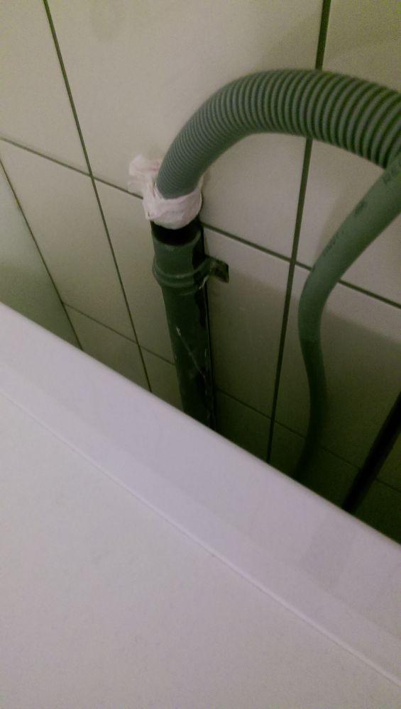 Afvoer wasmachine rioollucht