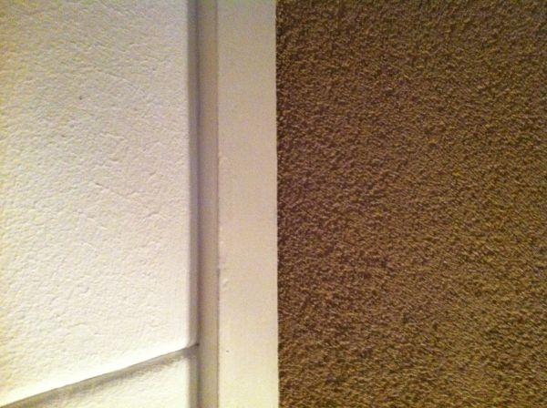 Muren Afplakken Schilderen.Spachtelputz Wanden Verven