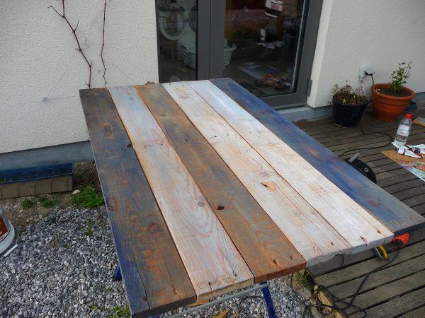 Tafelblad maken van oude planken  tips nodig!   Pagina 2