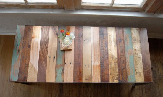 Uitgelezene Tafelblad maken van oude planken: tips nodig! MG-63
