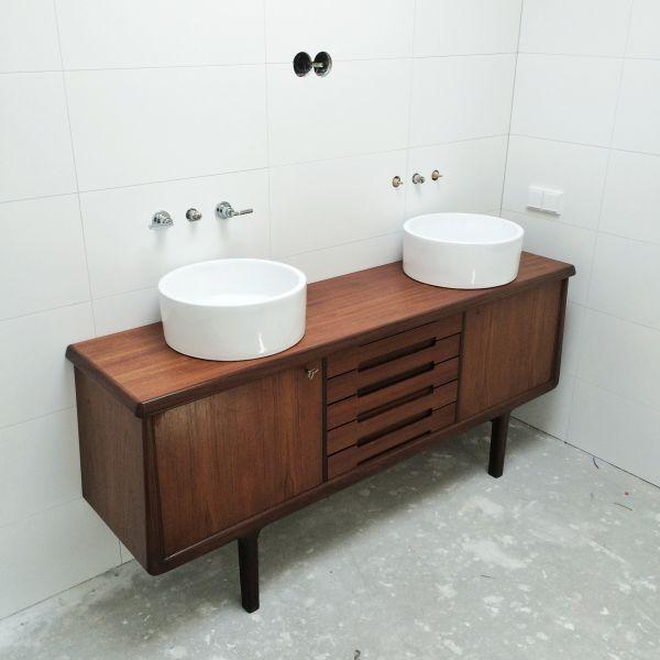 Favoriete Vintage meubel als badkamermeubel BS69