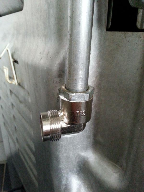 Bekend Gasaansluiting Indesit gasfornuis TM55