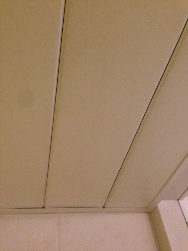 Luxalon plafon lamelen verwijderen