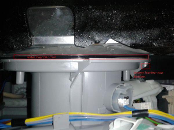 Bekend Siemens vaatwasser SN25M205EU lekt onderaan UR55