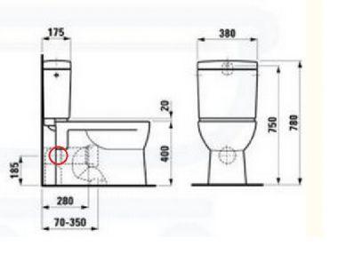 Uitzonderlijk Hoogteverschil afvoerbuis muur en afvoer wc pot - Pagina 3 JN26