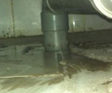 onbekende lekkage rondom de douche!, Badkamer