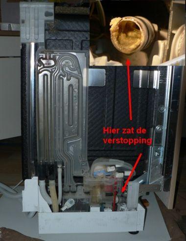 Extreem Vaatwasser Siemens SE65530 EU/13 wast niet schoon SD62