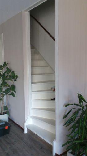 Open trap dichtmaken for Trap naar boven