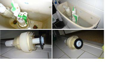 Spoelmechanisme Toilet Vervangen : Sphinx doorspoelmechanisme wc blijft with stortbak toilet sc