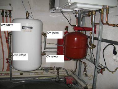 Warmtewisselaar water