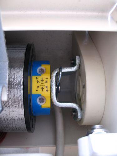 Motor voor knikarmscherm