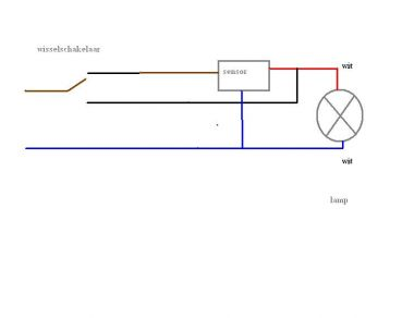 Iets Nieuws Een buitenlamp met sensor aansluiten QH75