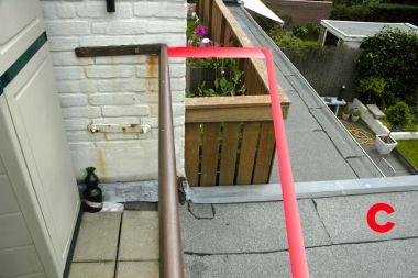 Houten Tegels Balkon : Balkon uitbouwen boven onze uitbouw