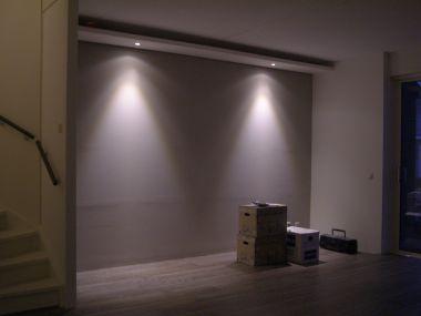 Zwevende lichtkoof