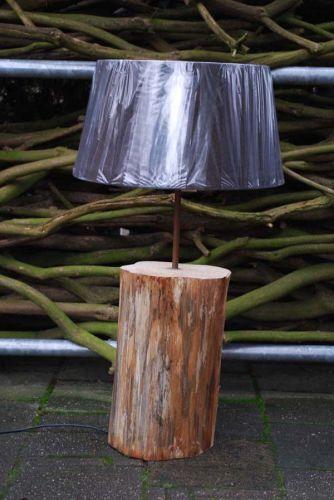 Boomstamlamp hoe de boomstam behandelen - Een houten boom maken ...