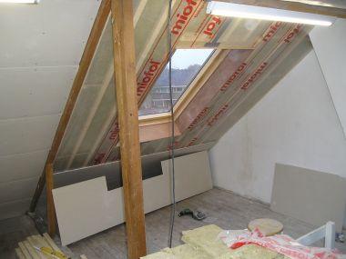 condensprobleem na isoleren van schuin dak
