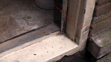 Wonderbaarlijk Vervangen onderdorpel buitendeur AP-57