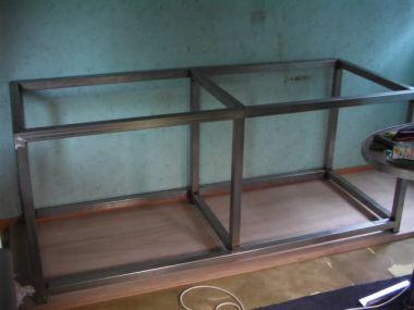 Iets Nieuws Aquarium meubel bekleden met Trespa &FX03