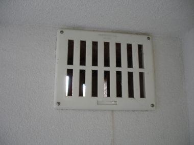 Ventilatie rooster badkamer