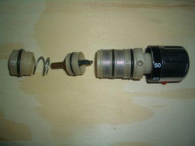 Bimetaal thermostaat douchekraan defect for Thermostaat voor grohe kraan