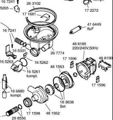 Uitgelezene Vaatwasser Bosch SHV59A03/17 bovenin niet schoon RQ-03