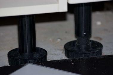 Verwijderen Poten Onder Keukenkastje