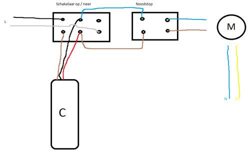 elektrische takel op 2 plekken bedienen met extra u0026 39 s