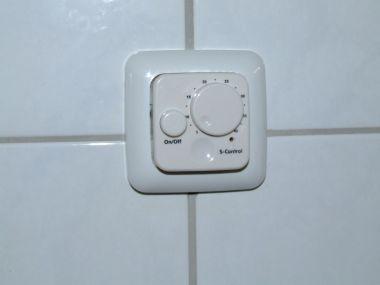 Thermostaatknop electrische vloerverwarming