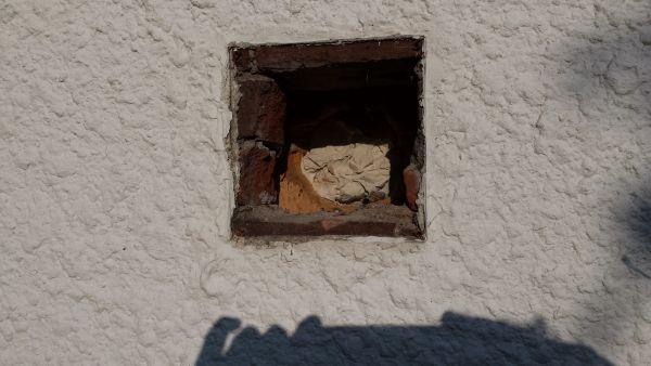 Vaak Opvullen gat in muur EK69