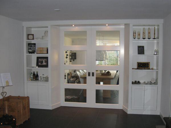 Ensuite deuren mechanisme bereikbaar houden - Afscheiding glas keuken woonkamer ...