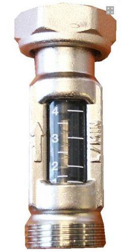Zeer Flowmeters vloerverwarmingsverdeler DX83