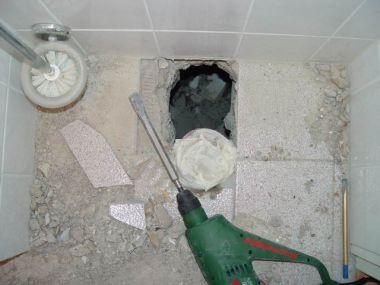 Riool aansluiten bij hangend toilet