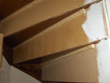 Open trap dichttimmeren for Zelf zoldertrap maken