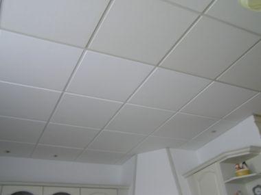 Plafondplaten verven