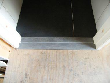 Hardstenen Dorpel Badkamer : Dorpel badkamer zelf maken