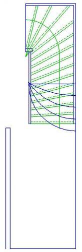 Bekend Zelf tekenen maken van een trap KS11