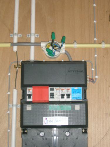 Stopcontact in meterkast