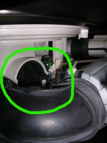 Reparatie whirlpool vaatwasser waterindicator flowmeter for Sensor schoonmaken